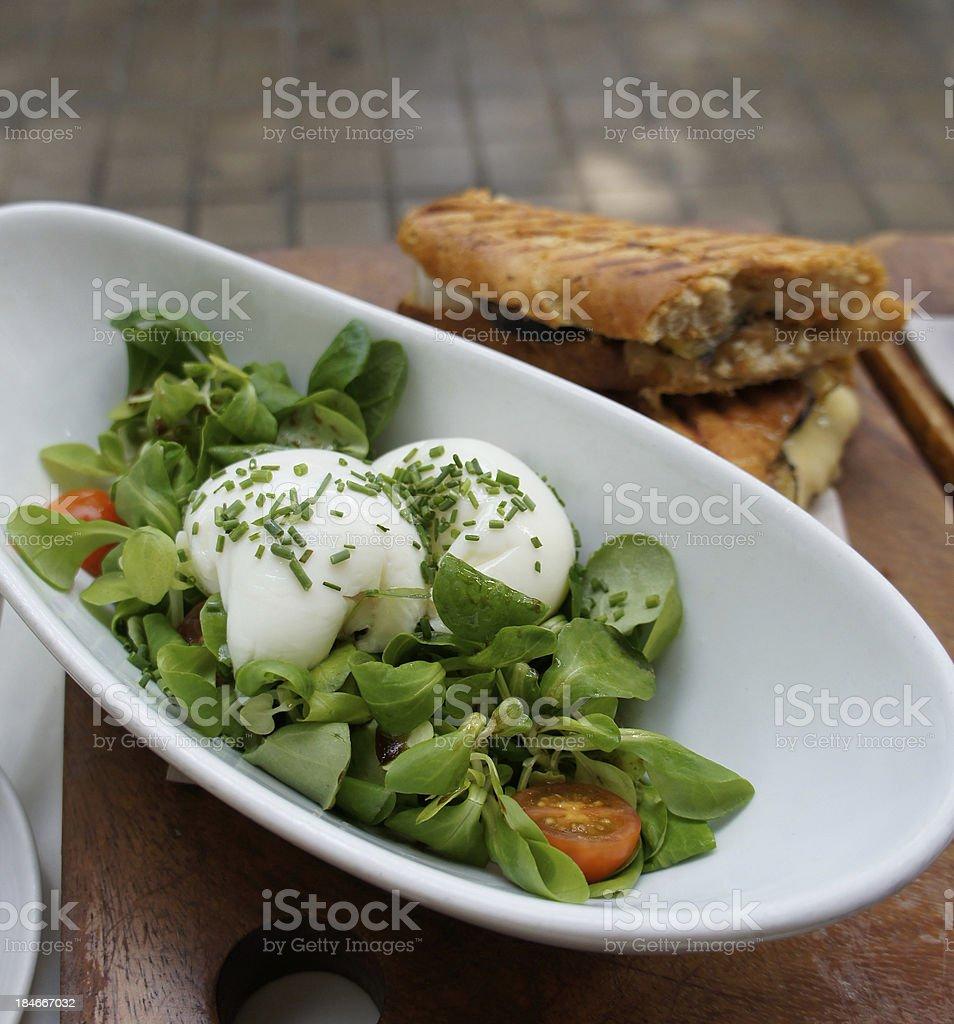 cafe breakfast royalty-free stock photo