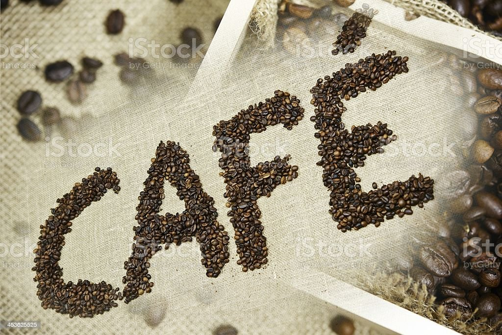 Cafe Coffee Design stock photo