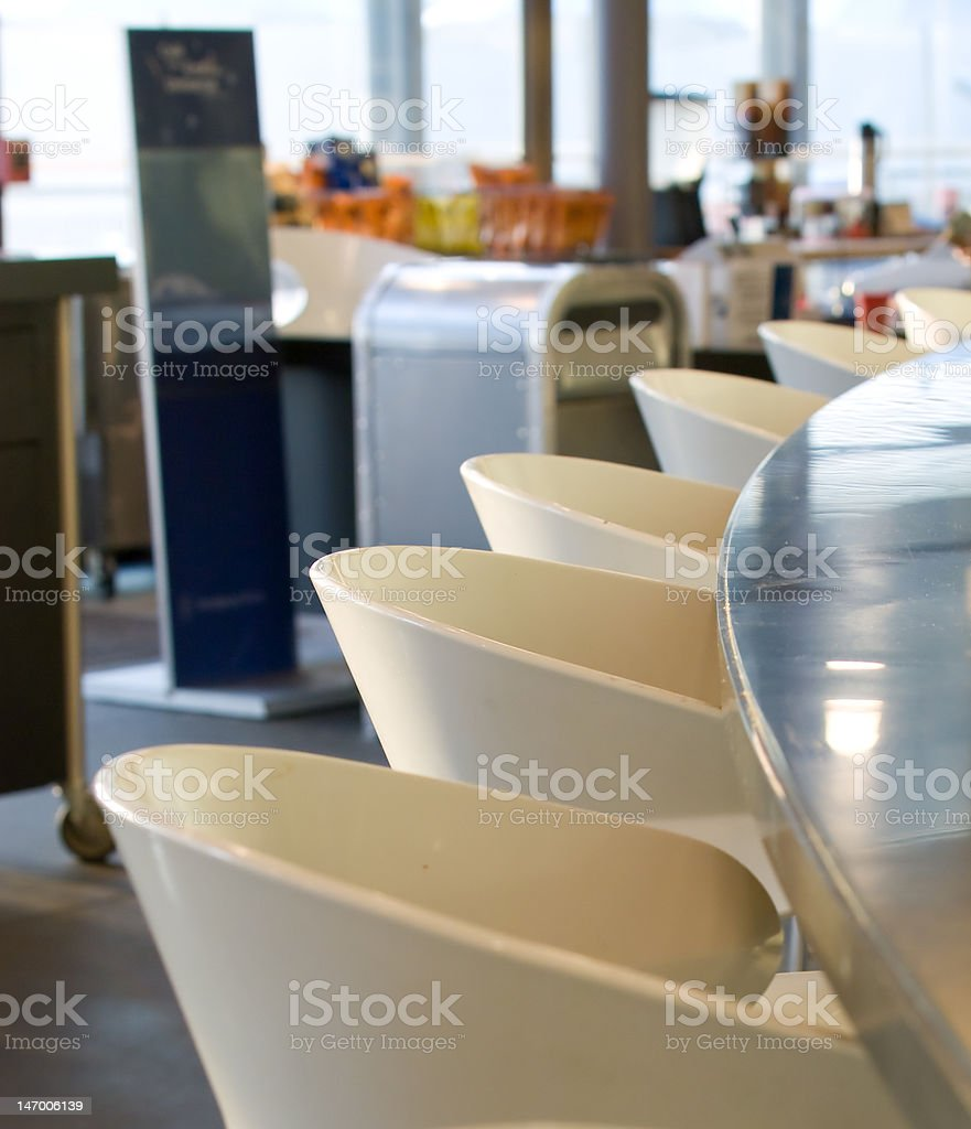 Cafe Counter royalty-free stock photo
