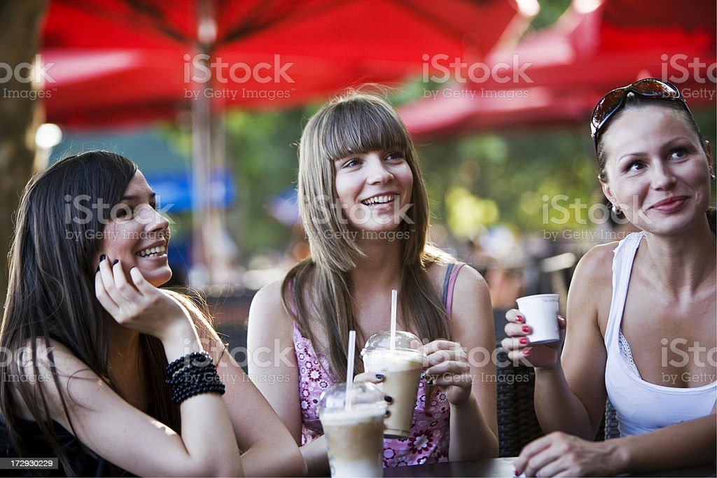 Cafe culture royalty-free stock photo