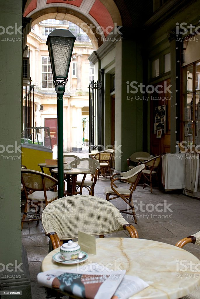 Cafe culture. royalty-free stock photo