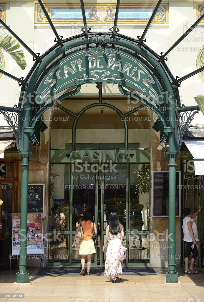 Cafe De Paris. Monte Carlo. royalty-free stock photo