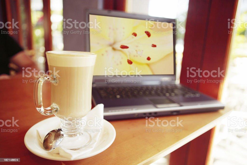 Cafe Designer royalty-free stock photo