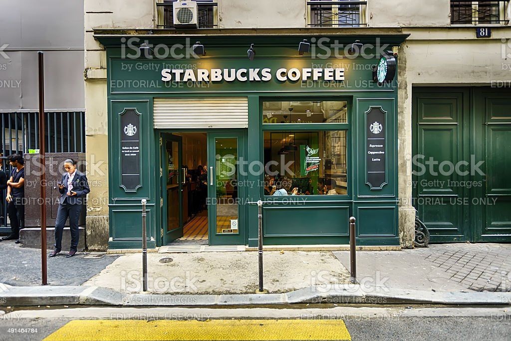cafe exterior stock photo