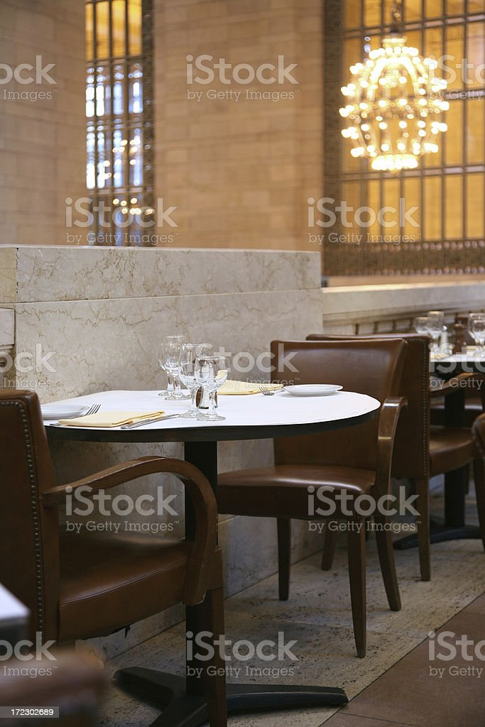 Cafe In Grand Central Station royalty-free stock photo