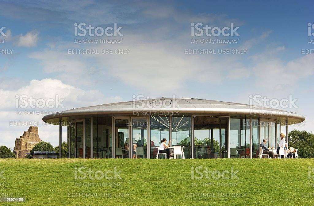 Cafe in Regents Park royalty-free stock photo