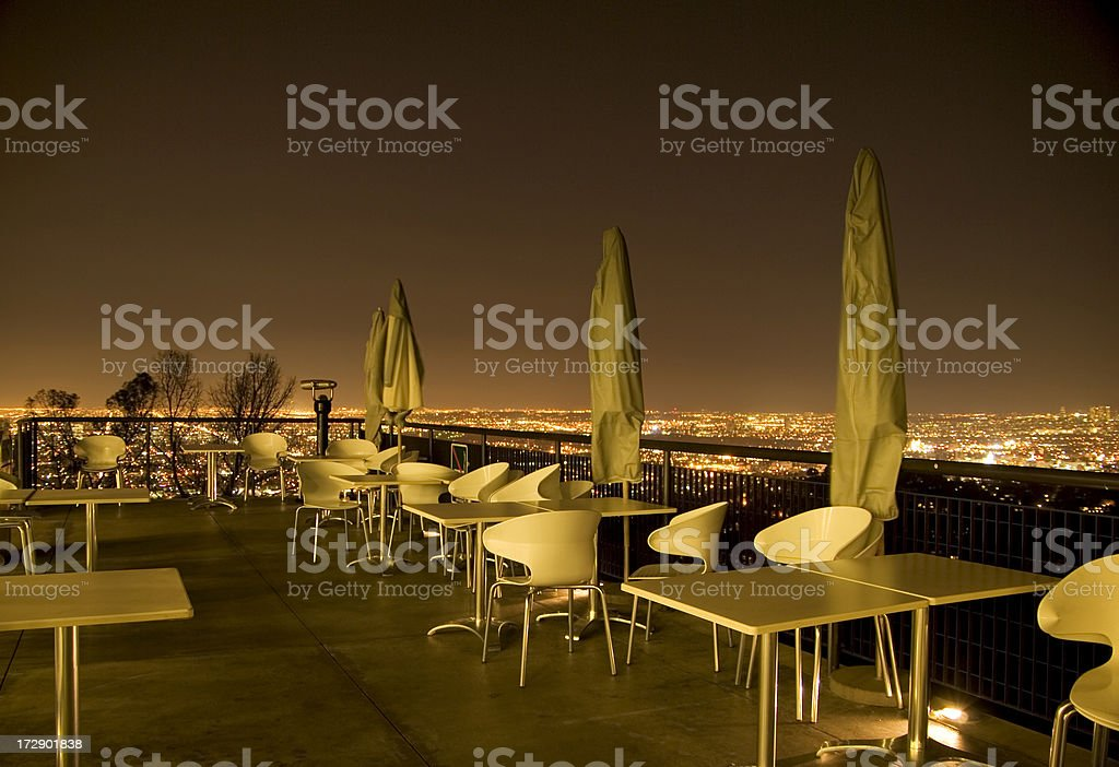 Cafe in the hills royalty-free stock photo