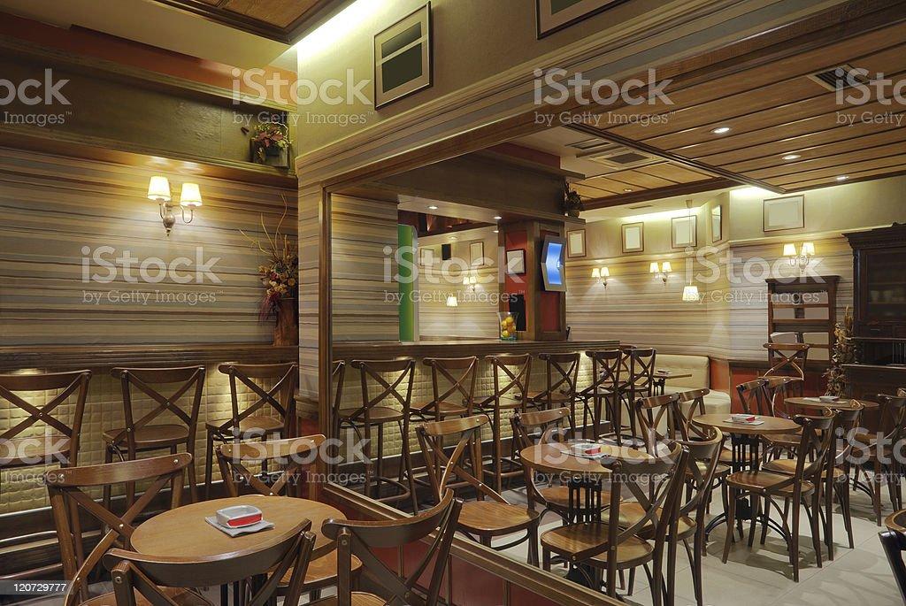 Cafe Interior royalty-free stock photo