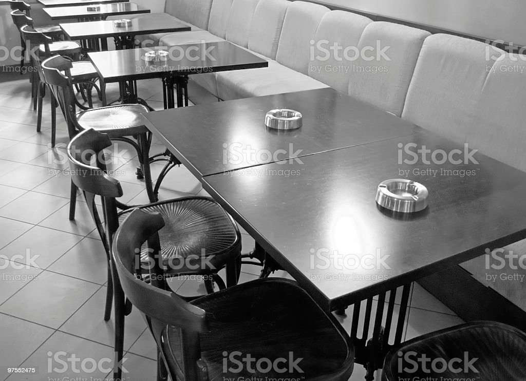 Cafe interior royalty-free stock photo