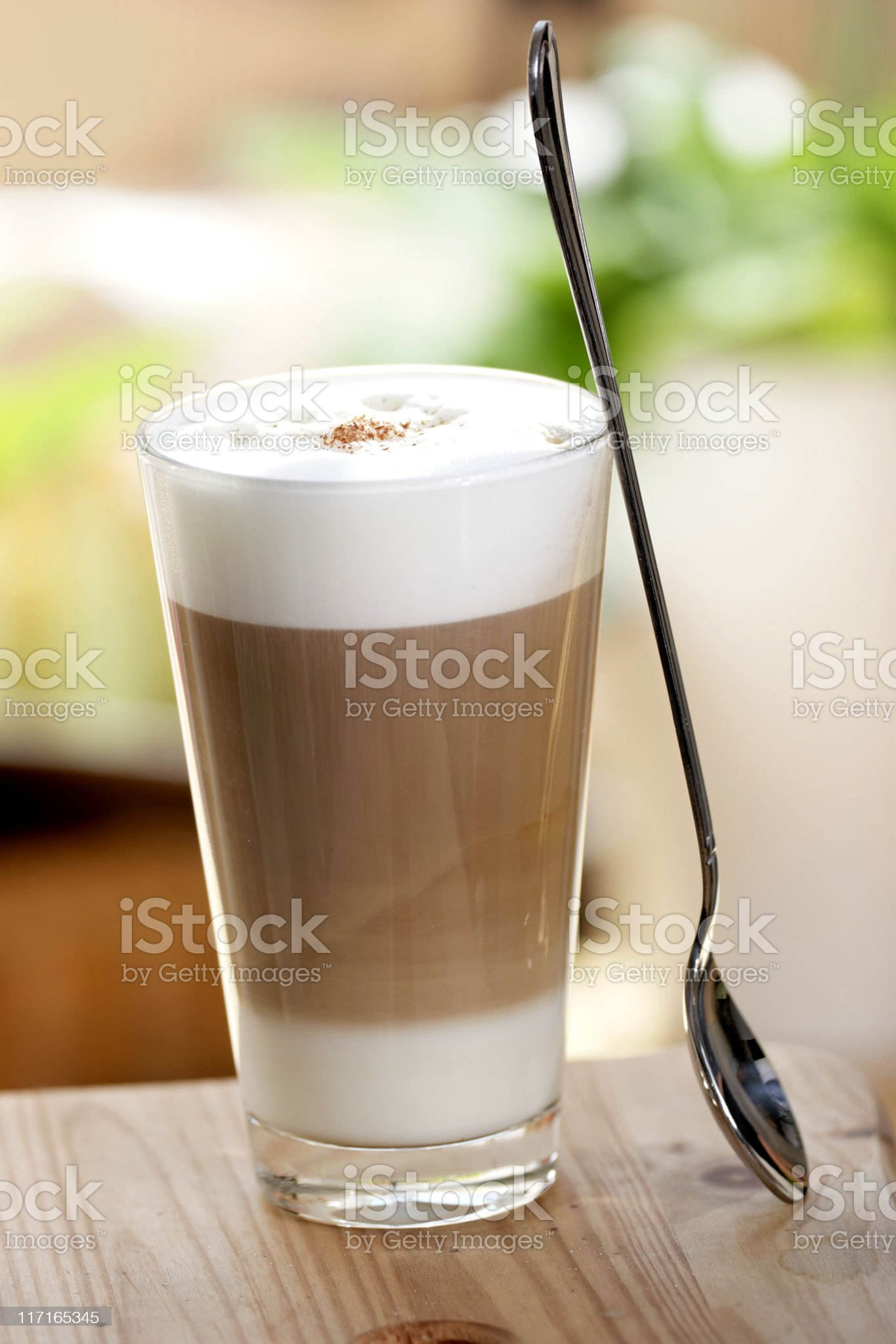 cafe latte royalty-free stock photo