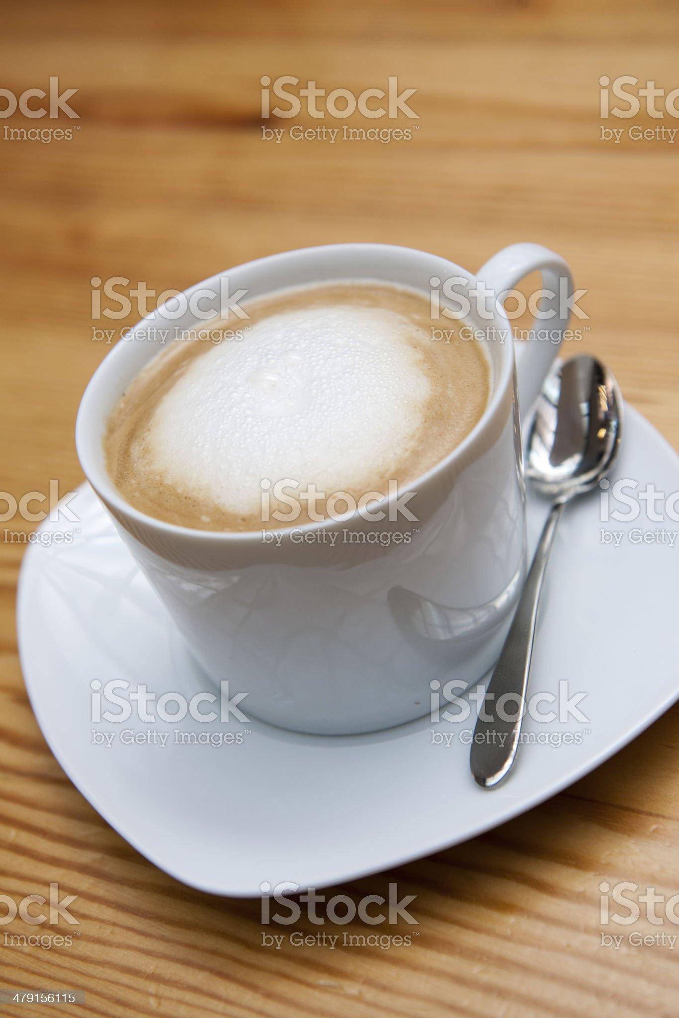 Cafe Latte royalty-free stock photo