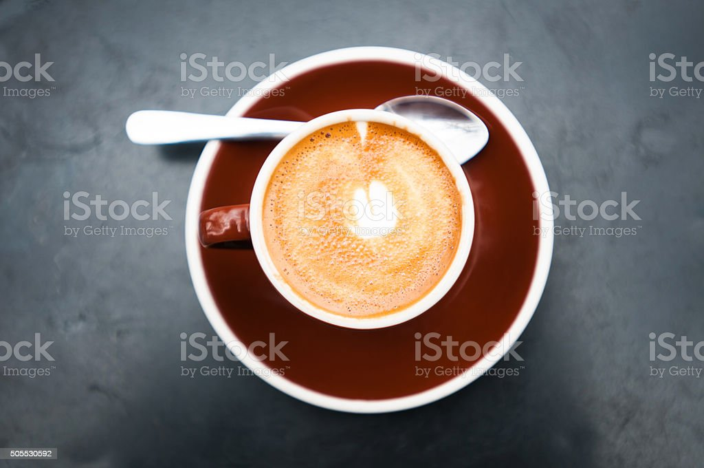 Cafe Macchiato stock photo