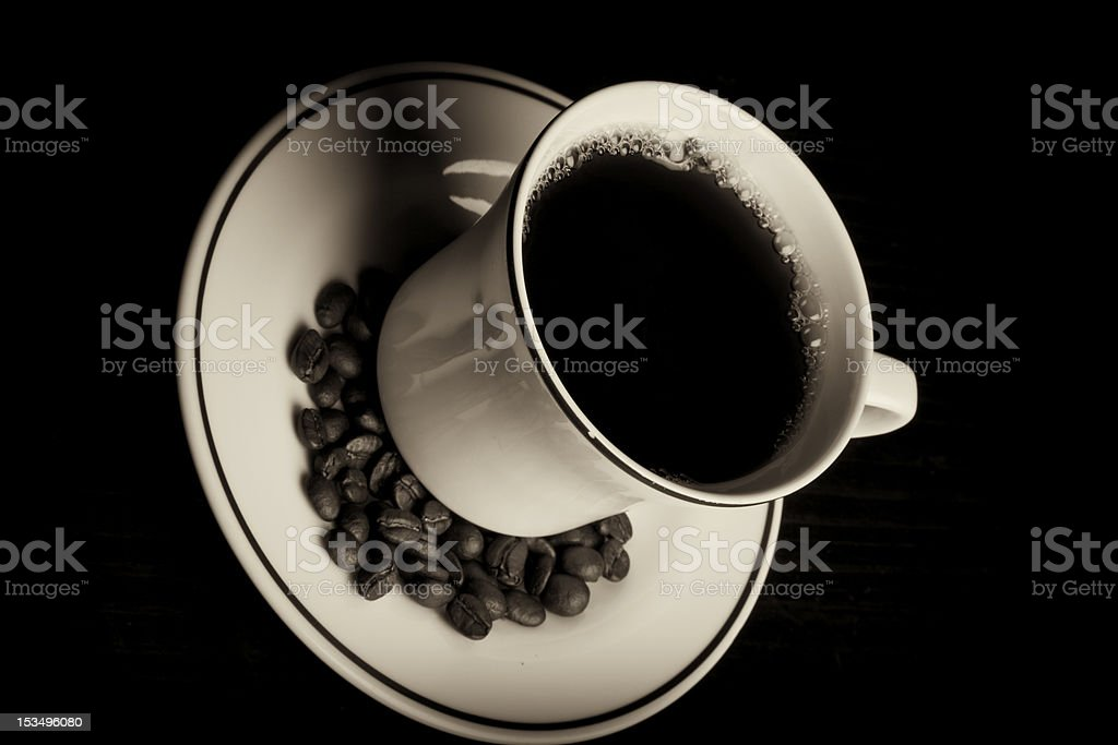 Cafee royalty-free stock photo