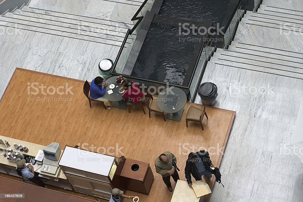 cafeteria royalty-free stock photo