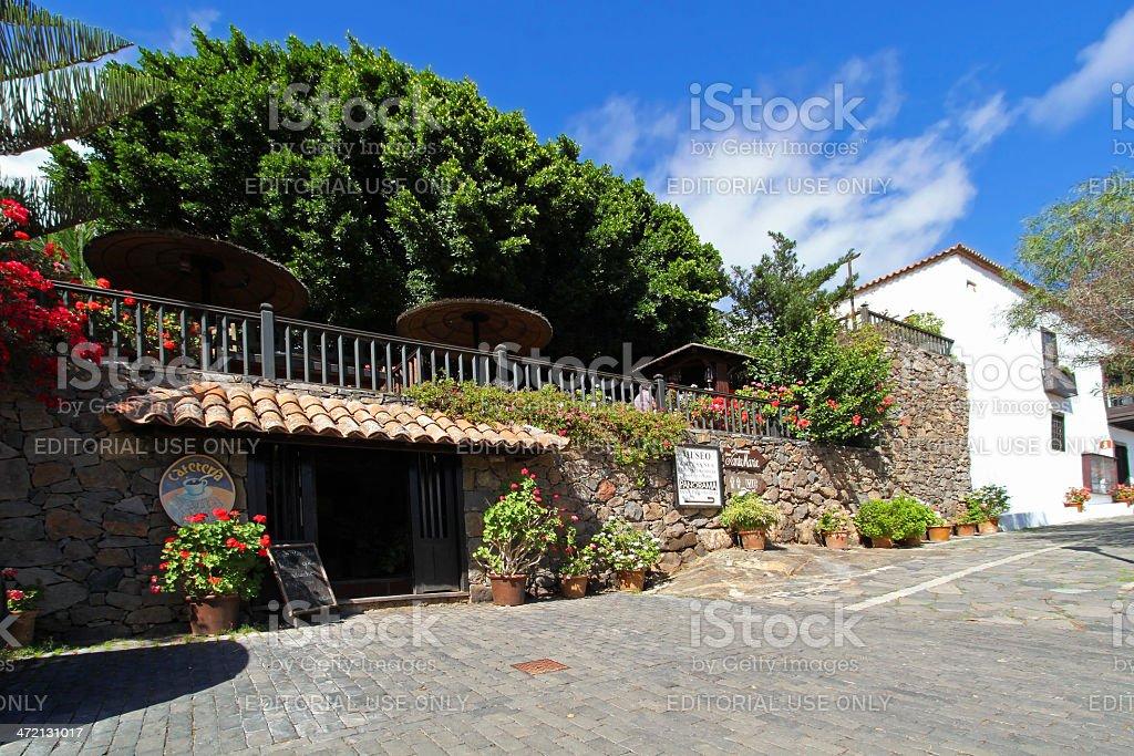 Cafeteria Santa Maria in Betancuria, Fuerteventura royalty-free stock photo
