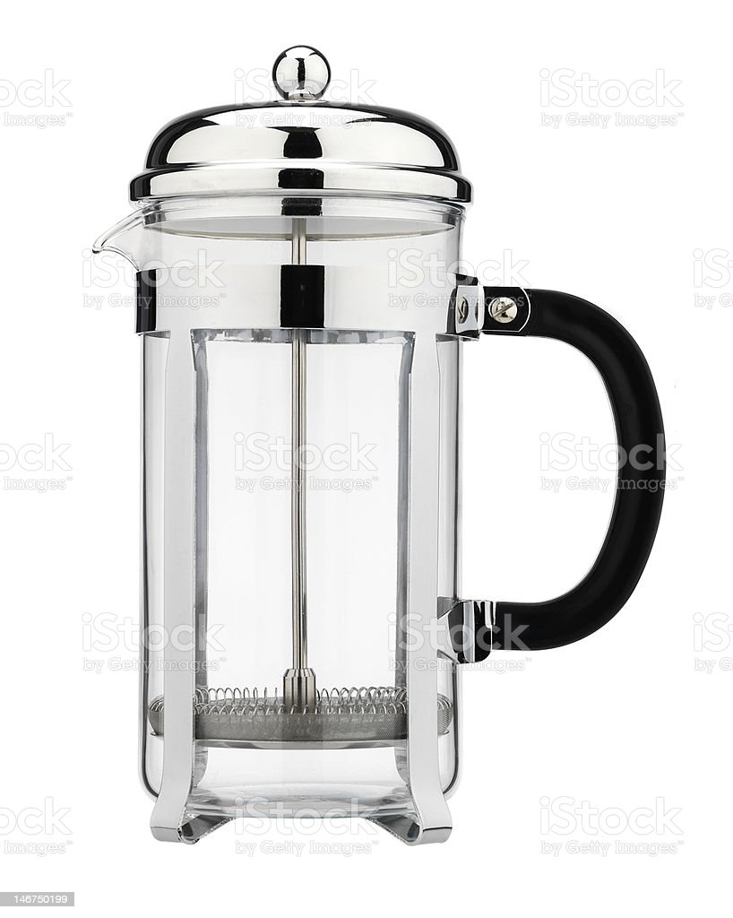 cafetiere stock photo
