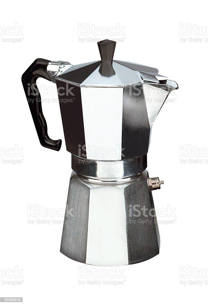 cafetière italienne stock photo