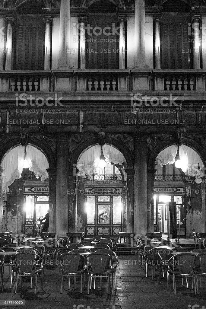 Caffè Florian in Venice stock photo