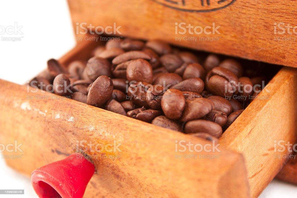 Caffe grains stock photo
