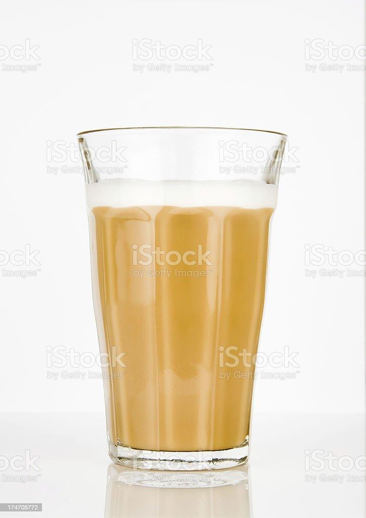 Caffe latte stock photo