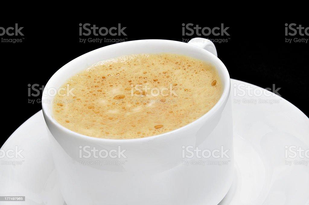 caffe latte royalty-free stock photo