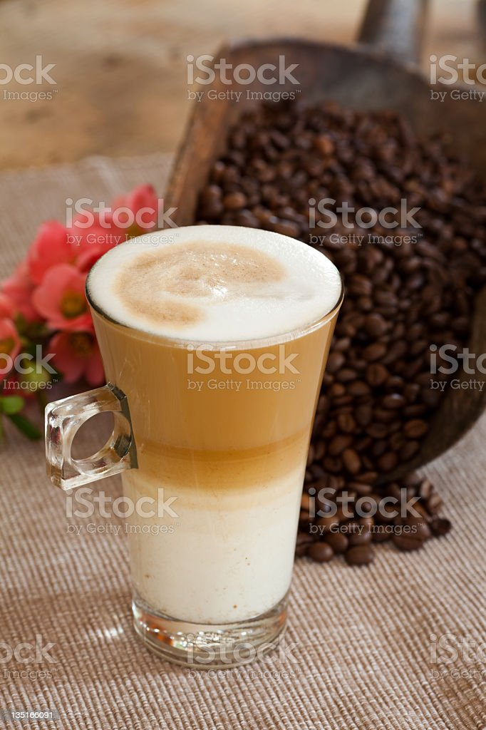 Caffee Still Life royalty-free stock photo