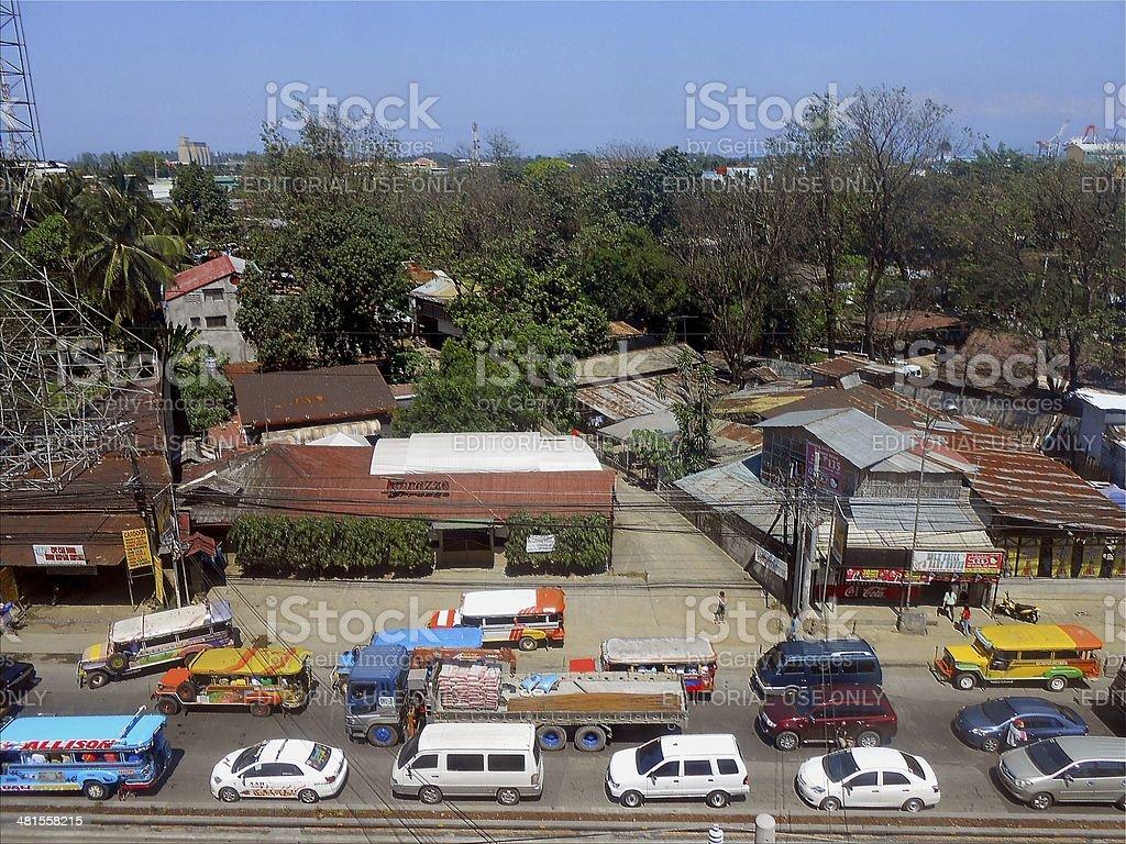 Cagayan De Oro City, traffic jam - Mindanao Philippines stock photo