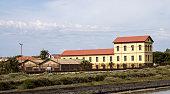 Cagliari: building chosen salts - Sardinia