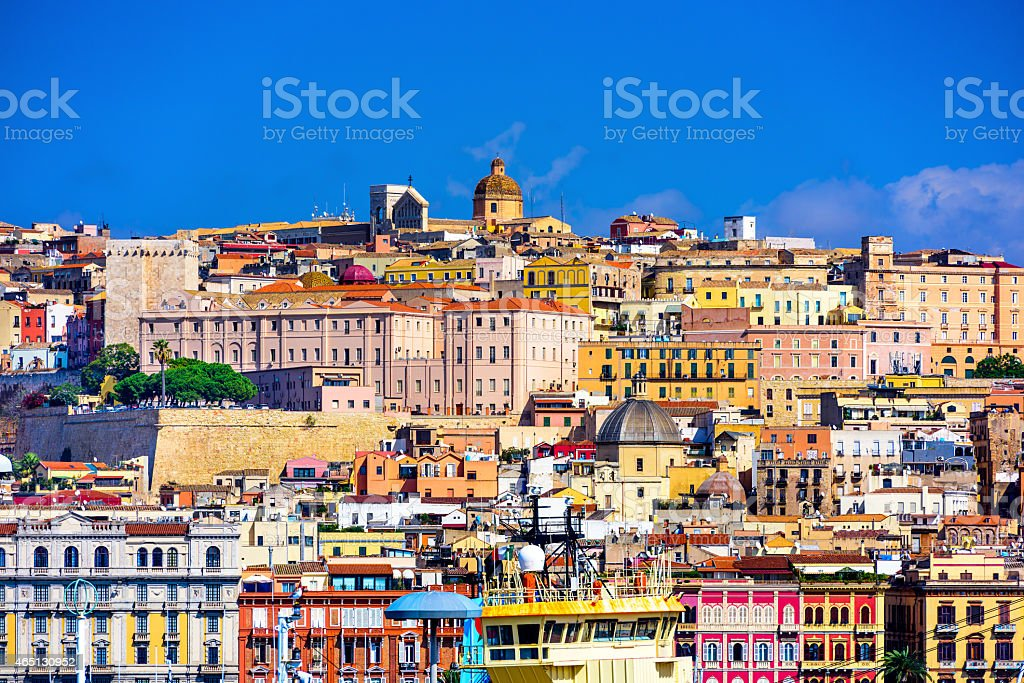 Cagliari, Italy stock photo