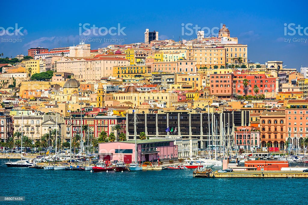 Cagliari, Sardinia, Italy stock photo