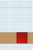 Cahier - Feuille à petits carreaux