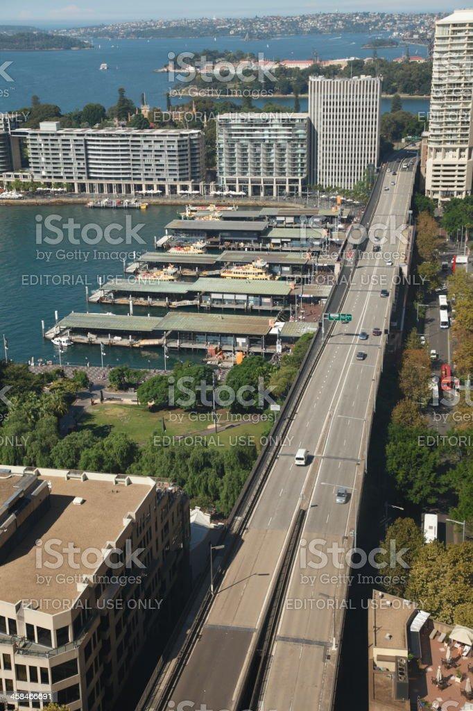 Cahill Expressway Sydney royalty-free stock photo