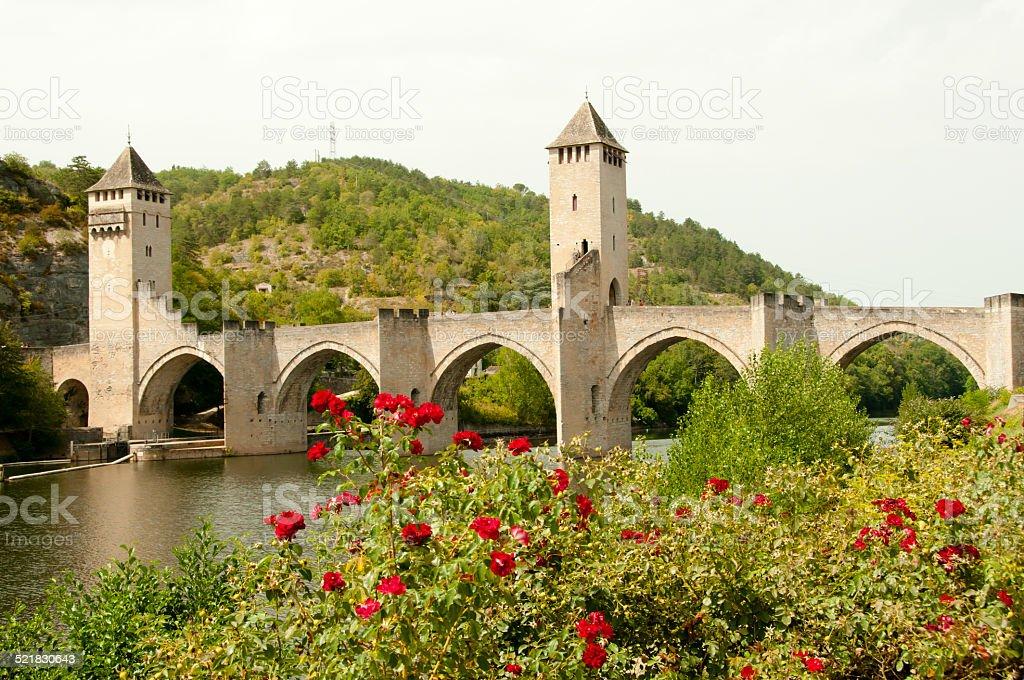 Cahors - France stock photo