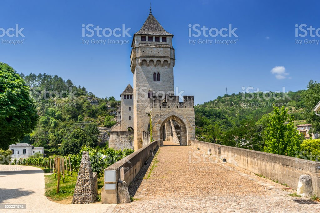 Cahors stock photo