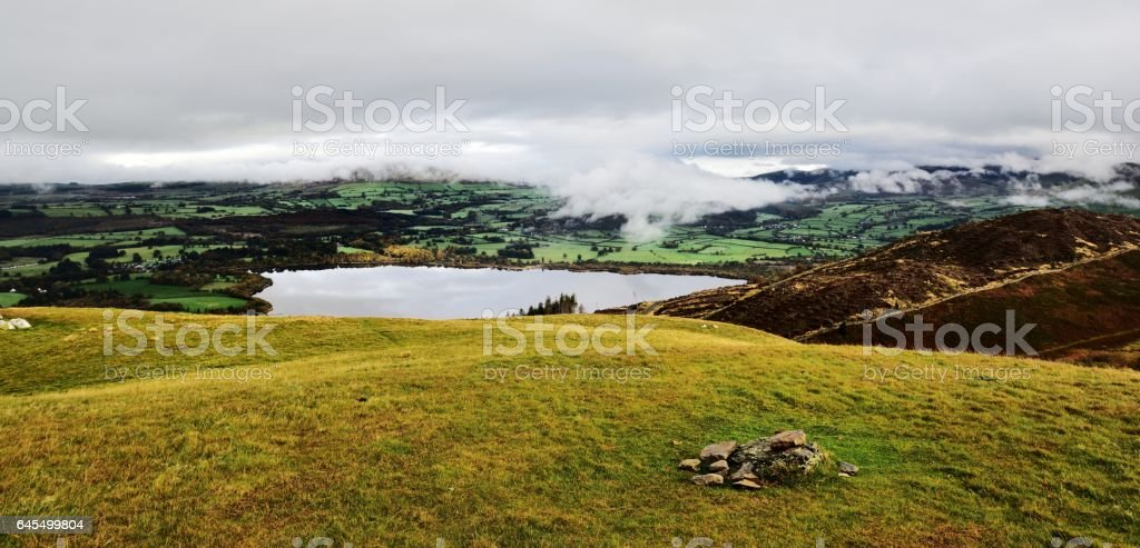 Cairn on Sale Fell stock photo