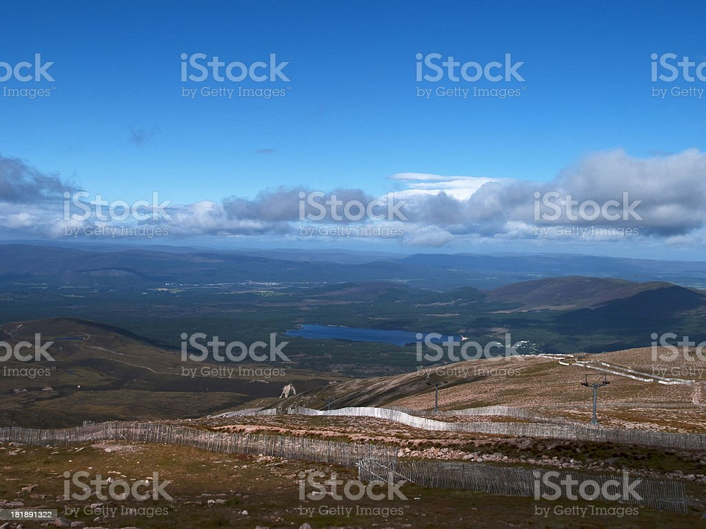 Nationalpark Cairngorm royalty-free stock photo