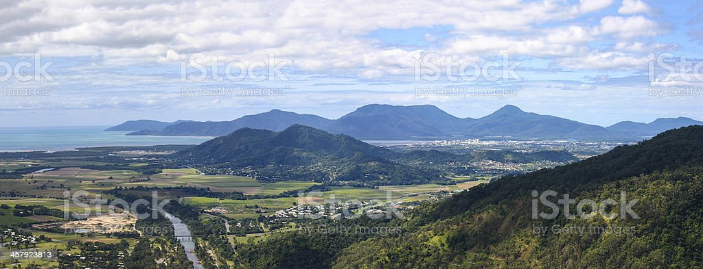 Cairns City Panorama royalty-free stock photo