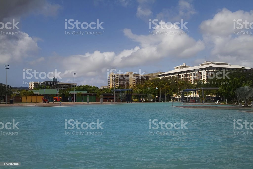 Cairns Forshore royalty-free stock photo