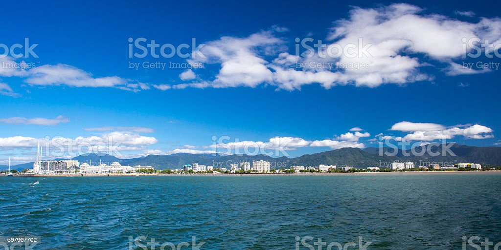 Cairns Waterfront stock photo