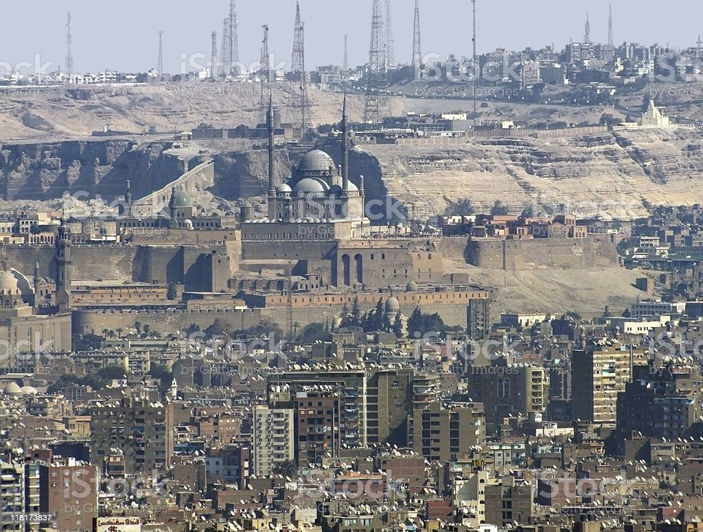 Cairo aerial view royalty-free stock photo
