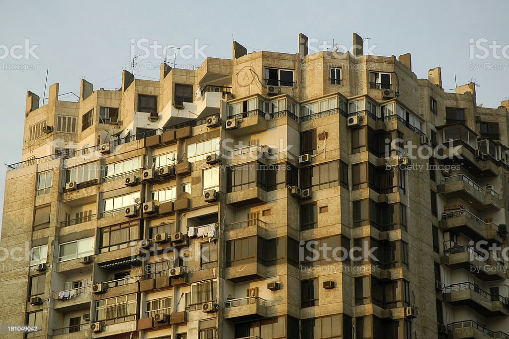 Cairo Buildings royalty-free stock photo