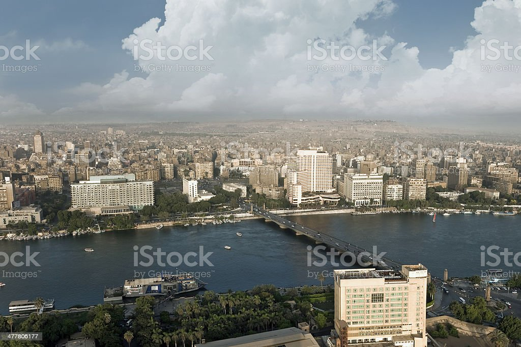 Cairo city stock photo