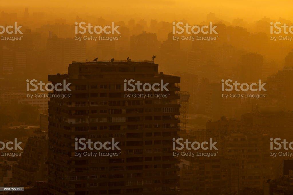 cairo city stock photo