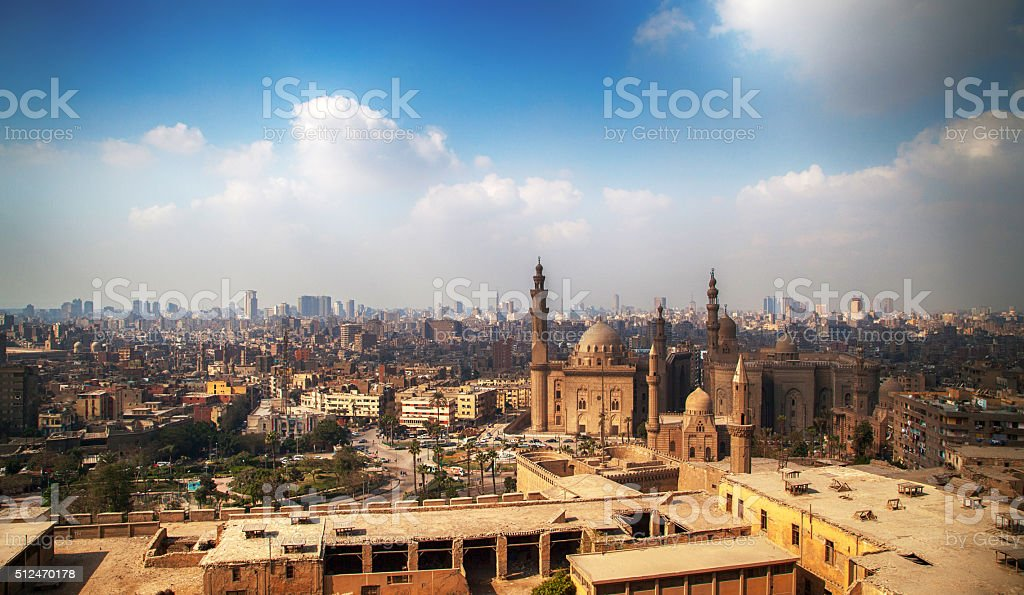 Cairo City View stock photo