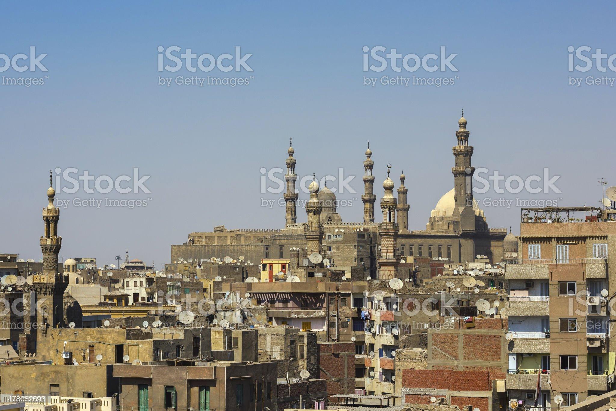 Cairo cityscape royalty-free stock photo