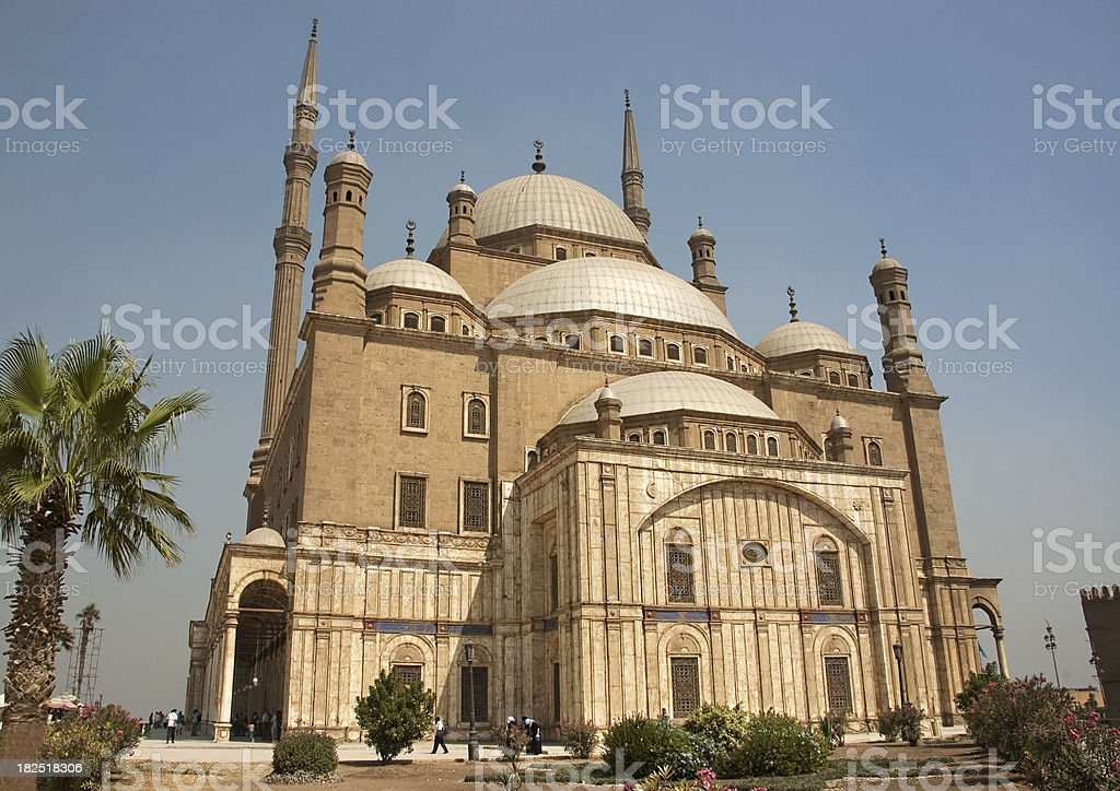Cairo mosque royalty-free stock photo
