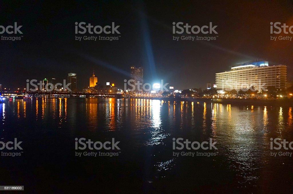 Cairo Nile stock photo