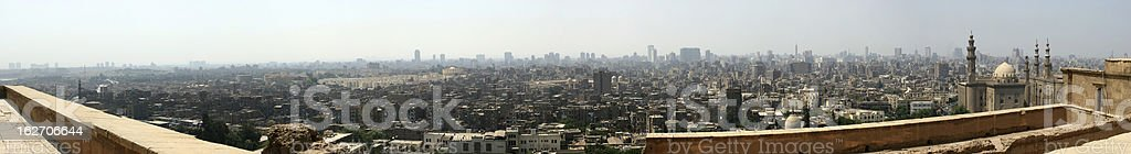 Cairo Panorama royalty-free stock photo