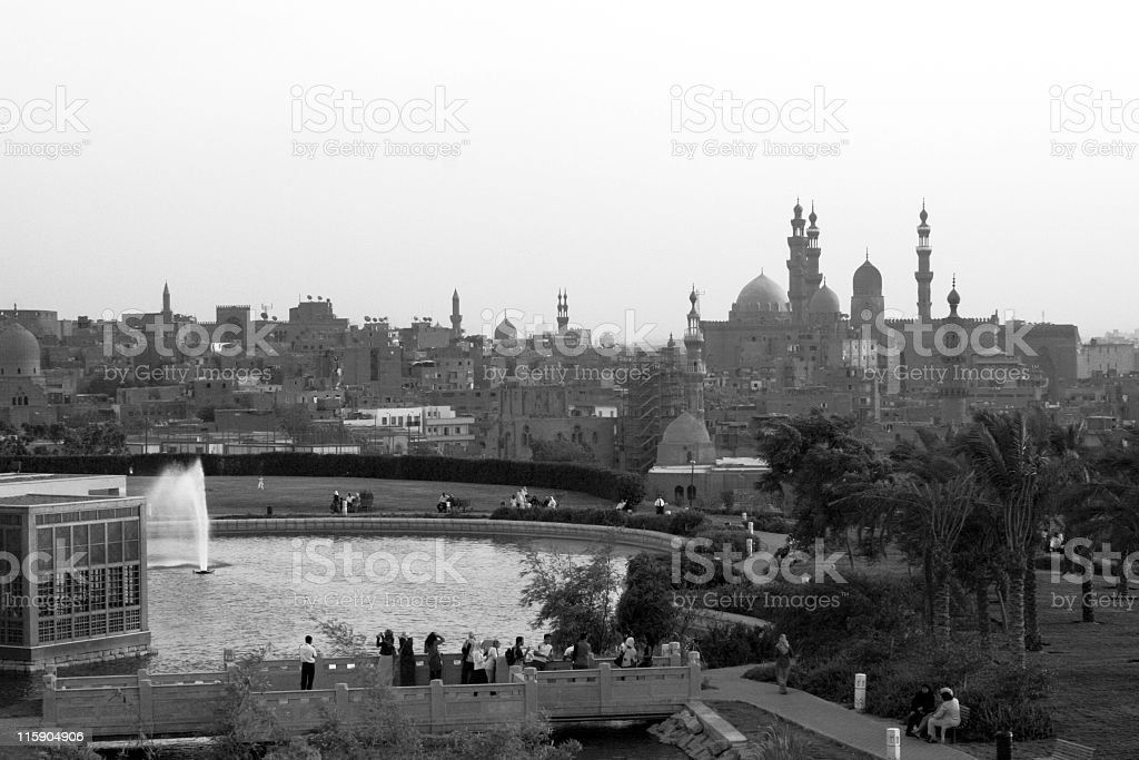 Cairo Park stock photo