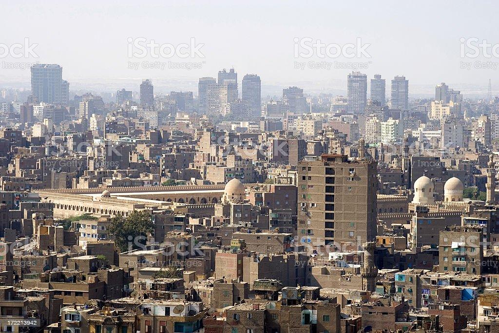 Cairo skyline, Egypt royalty-free stock photo